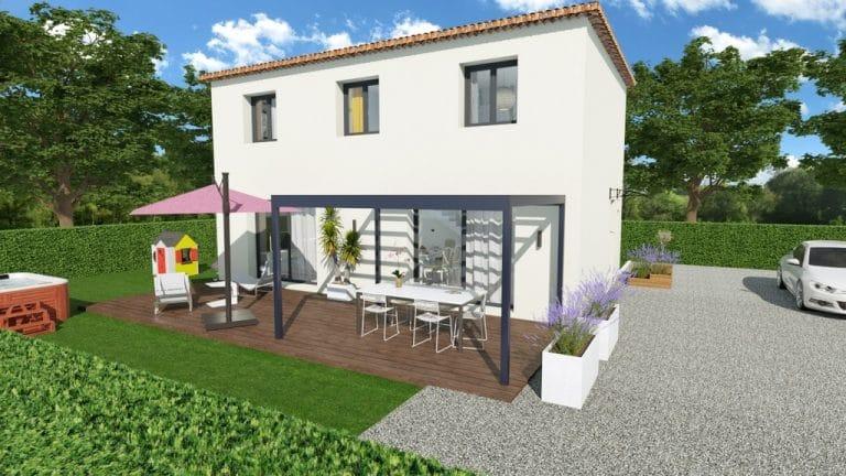 Projet construction maison La Valette
