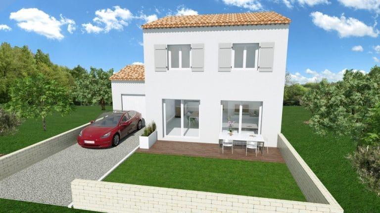 Maison construction Pierrefeu