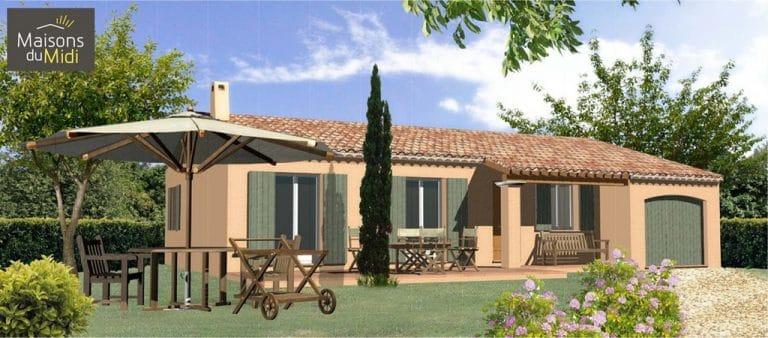 Projet maison sur terrain Rians