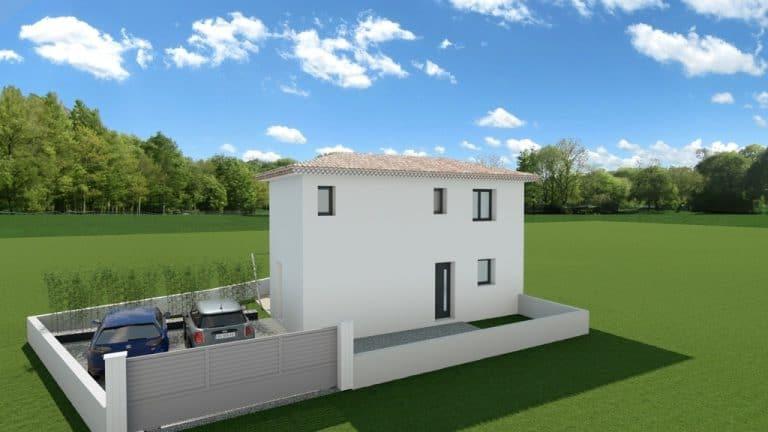 Terrain + maison six-fours Var (83)