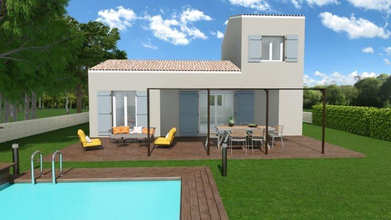 Maison + terrain la Roquebrussane