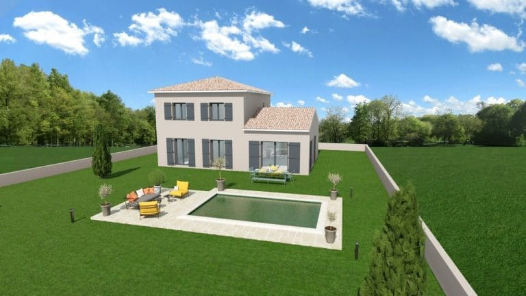 Construction maison sur terrain à la Valette du Var