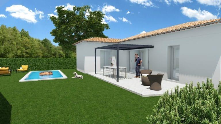 Construction maison biotique Pertuis