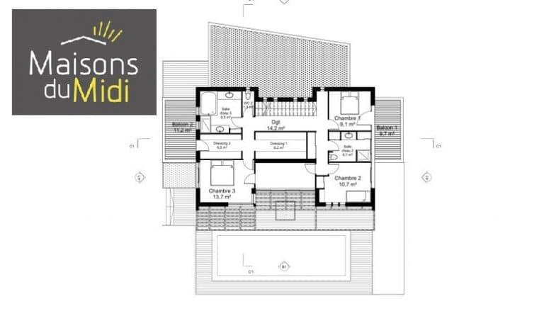 Terrain + Maison Roquefort les Pins