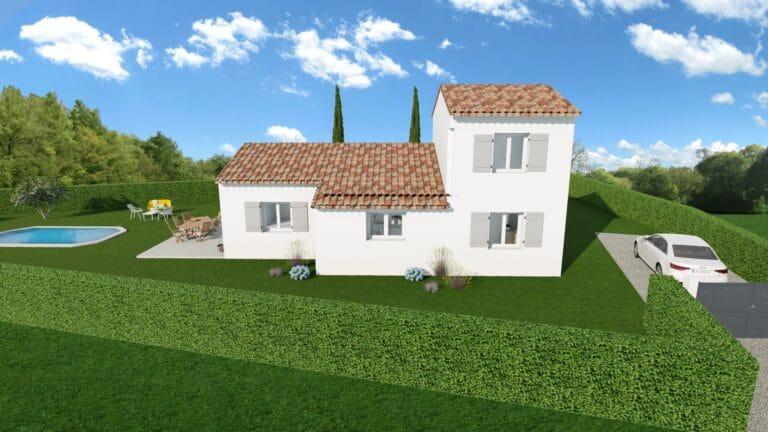 Maison et terrain à vendre à Rocbaron