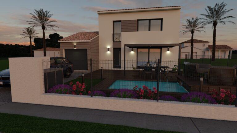 Villa étage