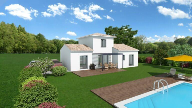 maison R+1 30% ES 88m2